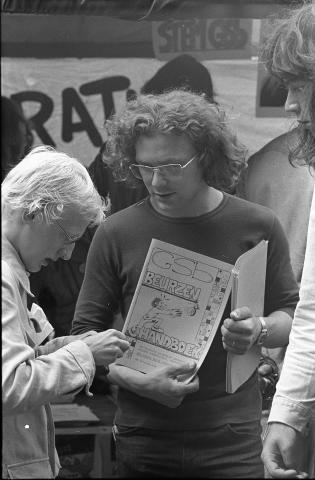 GSb geschiedenis | KEI | Studiefinanciering | 1975