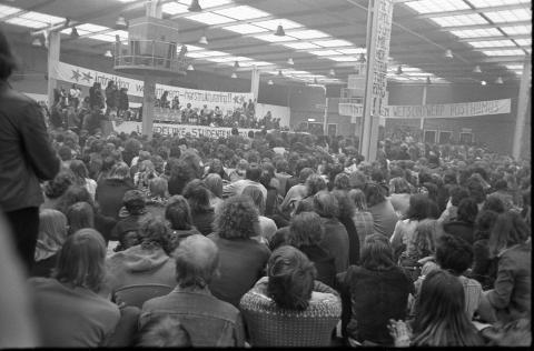 Posthumus actie 1974 Landelijke demonstratie Utrecht